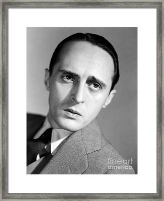 Rene Clair (1898-1981) Framed Print by Granger