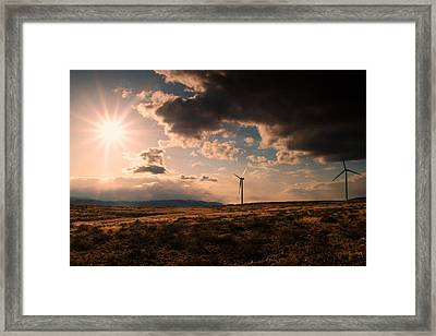 Renewable Energy Framed Print by Dan Mihai