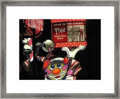 Reno Nv Framed Print by HollyWood Creation By linda zanini