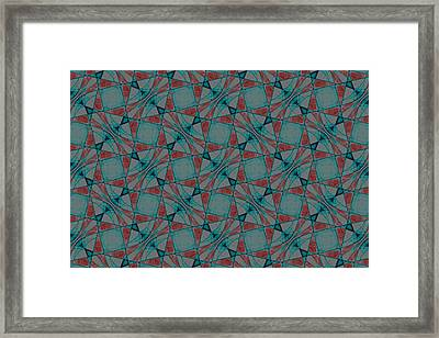 Repeating Patterns 3 Framed Print