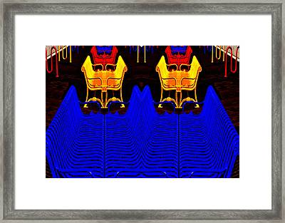 Repetition Framed Print