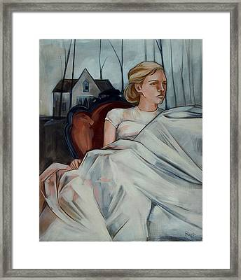 Repose Framed Print by Jacque Hudson