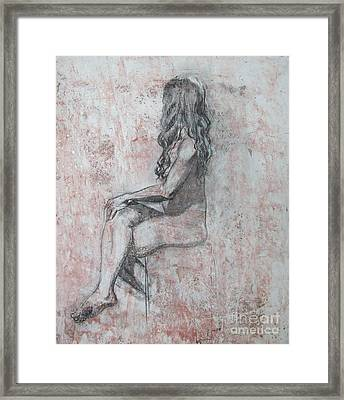 Repose Framed Print by Julianna Ziegler