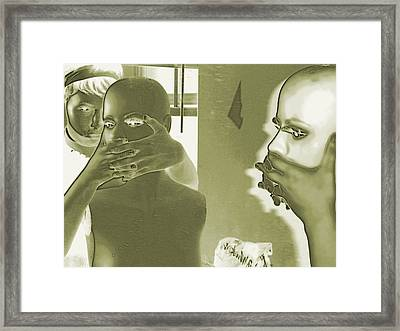 Repression Framed Print by Rdr Creative