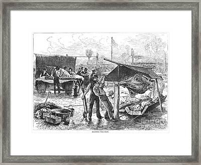 Republican Barbecue, 1876 Framed Print