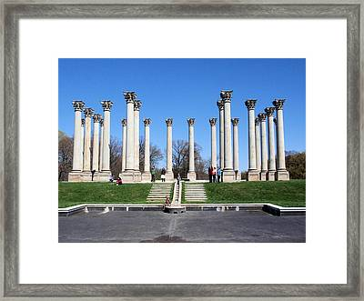 Repurpose Framed Print by