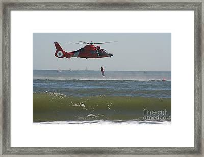 Rescue Framed Print by Clint Day