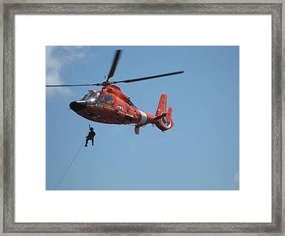 Rescue Helicopter 2 Framed Print