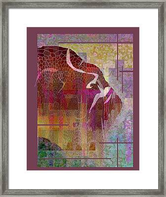 Resilient Framed Print by Ginny Schmidt