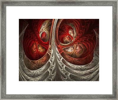 Respiratory Framed Print by Lourry Legarde