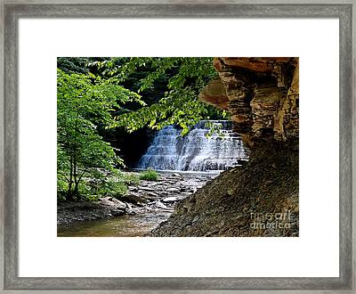 Framed Print featuring the photograph Respite by Christian Mattison
