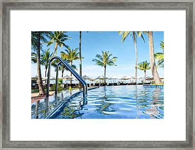 Rest View Framed Print by Atiketta Sangasaeng