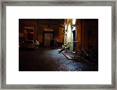 Restaurateur Framed Print by Cassie Jones Feliziani