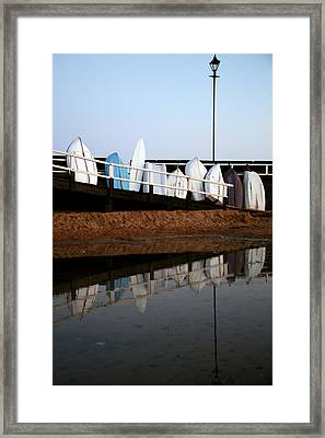 Rested Up Framed Print by Jez C Self