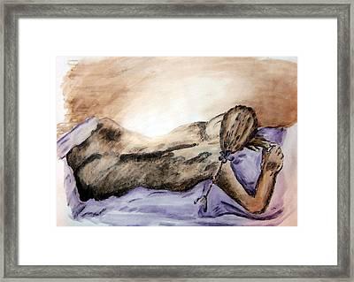 Restful Dream Framed Print