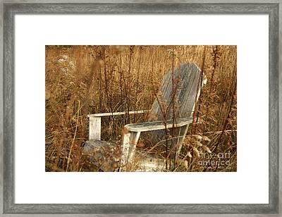 Restfull Framed Print