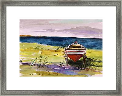 Resting In The Sun Framed Print by John Williams