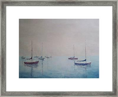 Resting Framed Print by Janet Beckman