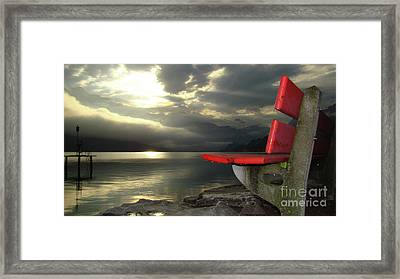 Resting Place Framed Print by Bruno Santoro
