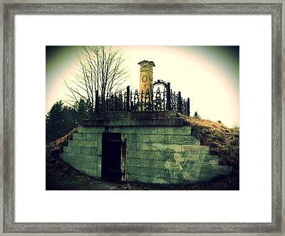 Resting Place Framed Print by Scott Baer