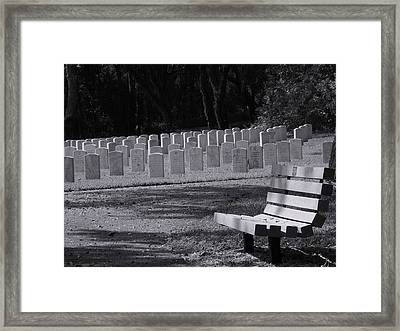 Resting Place Framed Print by Warren Thompson