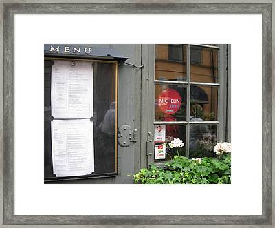 Restoran From Michelin Framed Print by Yury Bashkin
