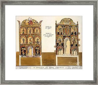 Retablo, 1816 Framed Print