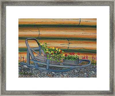 Retired II Framed Print by Amy Reisland-Speer
