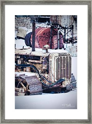 Retired Framed Print by Joshua Gillum