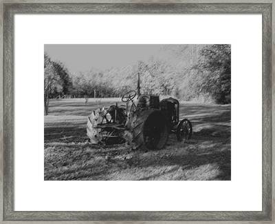 Retired Framed Print by Karen Harrison