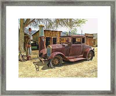 Retired Model T Framed Print by Jason Abando