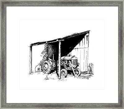 Replacement Pen And Ink Framed Print by Steve Orin