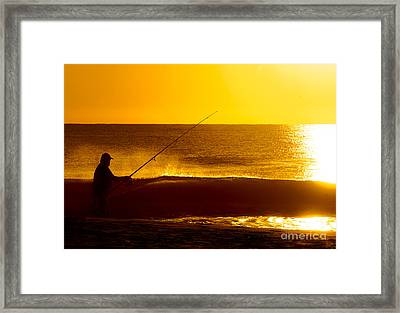 Framed Print featuring the photograph Retirement Bliss by Jim Moore