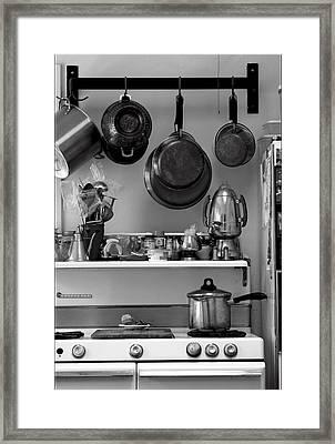 Retro Kitchen Framed Print