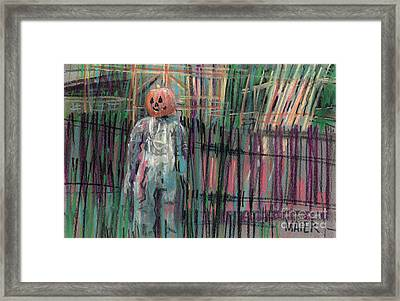 Return Of Pumpkinhead Man Framed Print