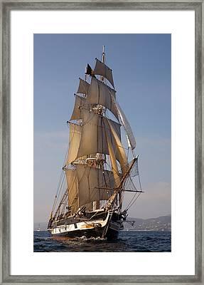 Return Of The Pilgrim Framed Print