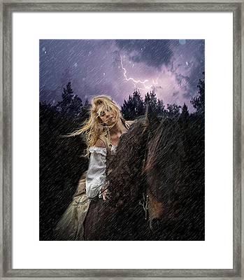 Return To Camelot Framed Print