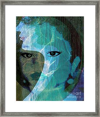Return To Self Framed Print by Fania Simon