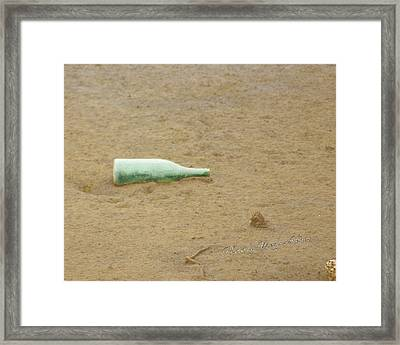 Return To Sender Framed Print by Wendy Athanasopoulos