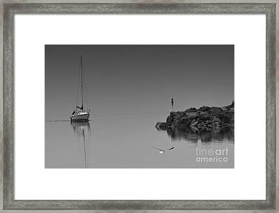 Returning Home Framed Print by Dennis Hammer