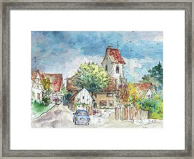 Reute In Germany 01 Framed Print by Miki De Goodaboom