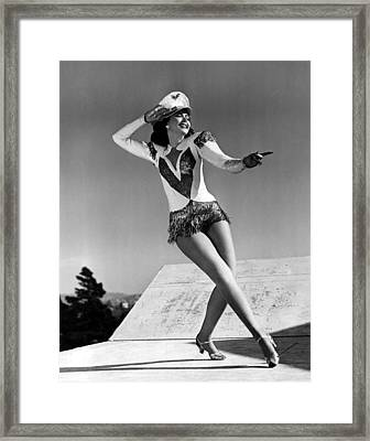 Reveille With Beverly, Ann Miller, 1943 Framed Print by Everett