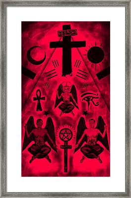 Revelation 666 Framed Print by Kenal Louis