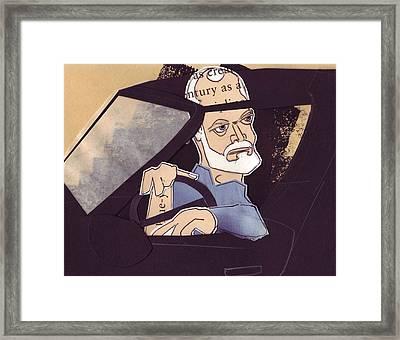 Reverse Framed Print by Jim Howard
