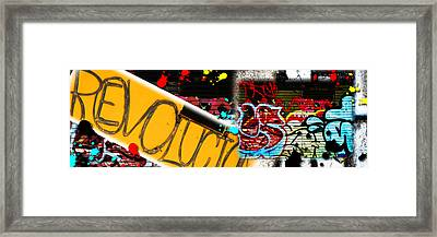 Revolution In Puerto Rico Framed Print by Simone Hester