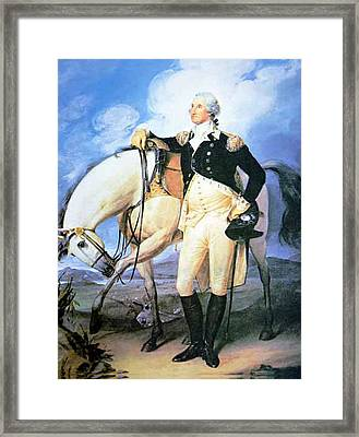 Revolution War Framed Print by Junior Vibert