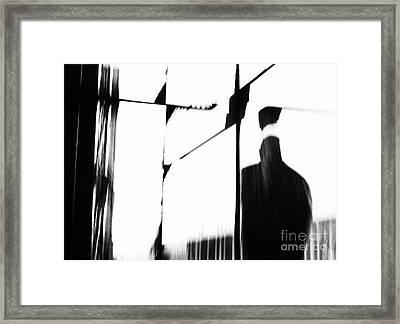 Revolving Doors Framed Print