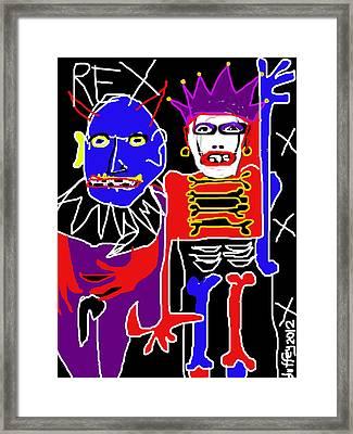 Rex 1 Framed Print