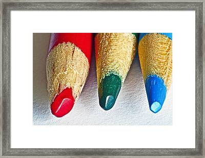 RGB Framed Print by Bill Owen