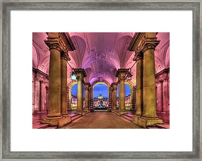 Rhapsody In Pink Framed Print by Evelina Kremsdorf
